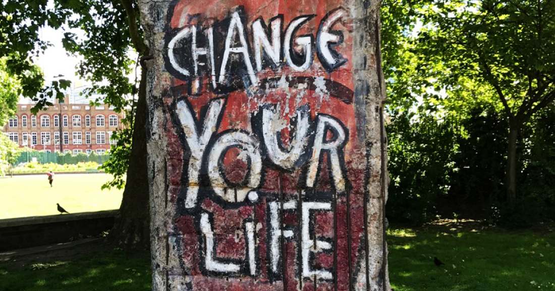 ARE YOU CHANGING YOUR LIFE?