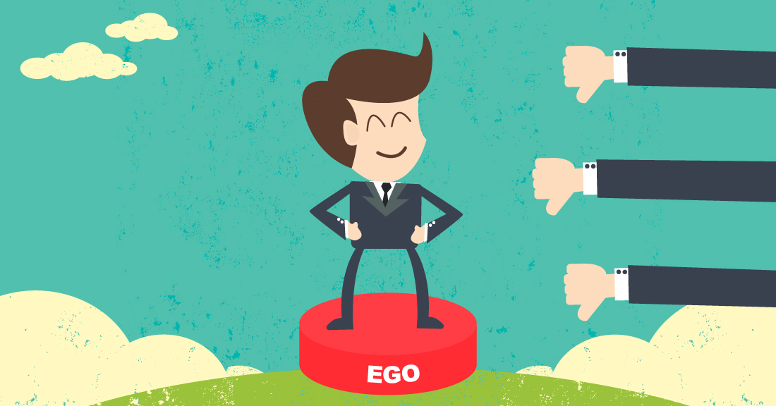 ARE YOU DRIVEN BY YOUR EGO?