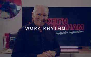 HAVE YOU RESET YOUR WORK RHYTHM?