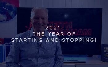 THE YEAR OF STARTING & STOPPING